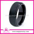 Anillo de carburo de tungsteno, Negro anillo del tungsteno, De la venda de boda