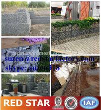 galvanized gabion box / gabion box prices / gabion box stone cage