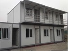 Low cost new design light steel structure modular prefabricated shipping container house plans