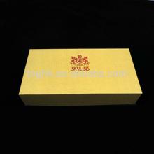 Custom cardboard box, chocolate box truffles, gold box for chocolate