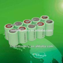 AGA manufacturer provide 1.2v 3000mah sub c nimh battery /nimh battery