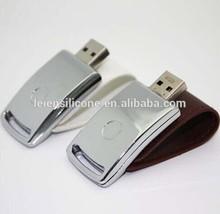 Leather USB engraving logo, Leather USB flash drive 16gb engraving logo,Leather USB stick engraving logo