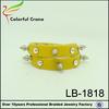 fashion bracelet making supplies leather bracelet
