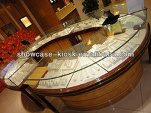 CIRCULE STYLE AND Playwood ,MDF ,WOOD,ACRYLIC MATERIALjewelry and watch display /showcase---UNIC2014