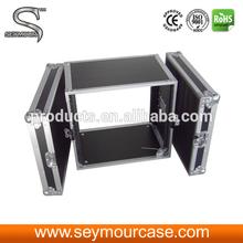 Road Case 2u Rack Case Aluminum Tool Carrying Case
