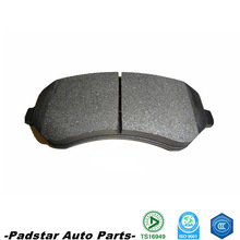 brake pad pair manufacturer in China automotive brake for Jeep America rear D856 auto spare disc best brake pad in China