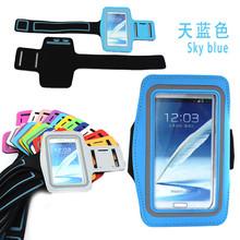 Waterproof armband case for samsung note 2 n7100 telefon case