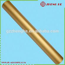 Self adhesive 100mic+120gsm release paper metal color vinyl