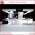 2014 vendita calda cosmetic display vetrina, trucco vetrina display per negozi