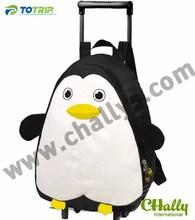 New cute penguin rolling kid shoulder bag