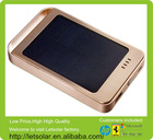 High efficiency wireless keyboard and case charger for ipad 2 champagne gold metal case 60000mah Li-ion battery solar power bank