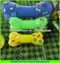 2014 New Plastic Squeaky Dog Bone Toy Dog Chew Bone