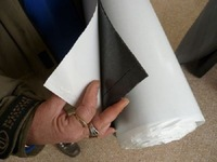sticky rubber roll sheet material