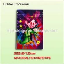 Top level unique standard bulk herbal incense smoke bag