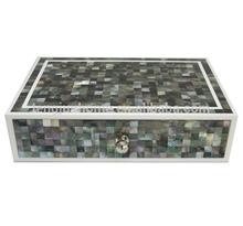 hotel seashell accessories storage box black shell storage box nail polish