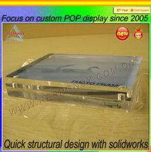 OEM design stylish Acrylic logo panel Display from shenzhen supplier
