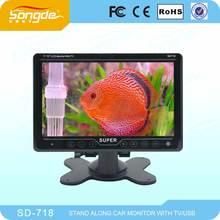TFT LCD araba dijital tv monitör 7 inç