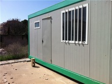 Competitive Prices cost saving sandwich panel 20ft container house made in china
