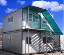Elegant appearance nude packinghigh qualitylow cost container house connected container house diy