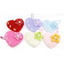 Five leaves flowers hairy heart-shaped children headdress flower children hair bands New fashion factory direct sale