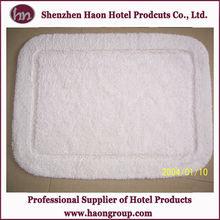 super soft cheap hotel long cotton plush bath mat/floor mat/bath rug