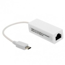 Micro Port USB 2.0 to fast Ethernet Network Adapter