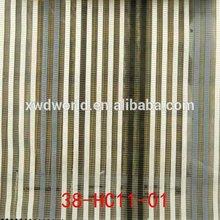 Personalizado más populares varios patrón de la tela de seda india