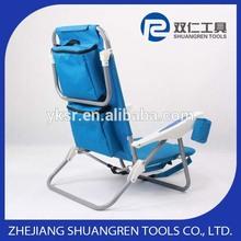 Beautiful updated folding bench chair