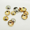 JF0758 Silver gold plated beads caps,jewelry finding caps,tip round end caps