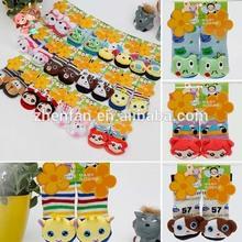 100%cotton thick cartoon animal anti-slip baby socks