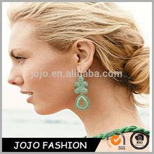 2014 national design alloy earring measle eardrop