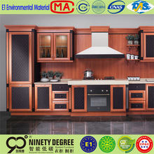 Best seller machine made luxury antique design kitchen cabinet/kitchen furniture for project