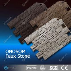 onosom decorative outdoorstone coated metal roof tile