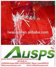 PE Leno mesh bag for packing vegetable