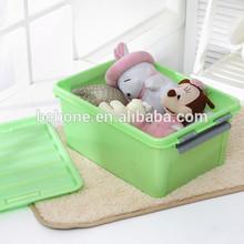 cheap price plastic storage box with lock,storage box