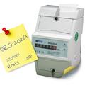 display analógico energia monofásica kwh vatímetro din raill fornecedor