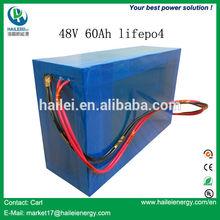 China Top manufacturer lifepo4 battery 48v 60ah