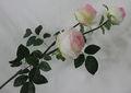 Mejor flor artificial para la ropa de flores en china 2014, a granel de flores artificiales de la tela