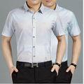2014 neue design gebrandet herren seidenhemd in loser schüttung