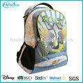 venta al por mayor 2014 nuevo estilo de la moda de las imágenes de la escuela de bolsas y mochilas