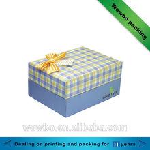 Modern design ribbon gift box