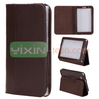 The factory price price Flip case for Samsung Galaxy Tab 2 7.0, P3100 Flip Leather Case