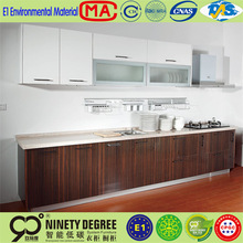 with matt lamination painting and melamine kitchen cabinet for sale