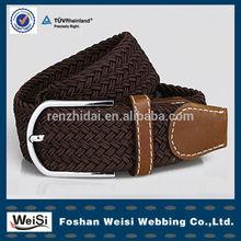 Eco-friendly jacquard elastic polyester cotton twill webbing belt