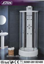 pratical Good Quality Round Framed Tempered glass Bathroom