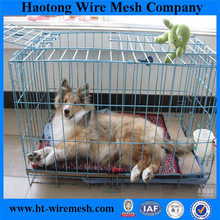 Haotong Wholesaler PVC Coated Galvanized Welded Wire Mesh Dog Cage For Sale