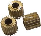 OEM brass machined printer gear,brass copier gear,brass printer spur gear
