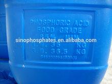 Food Additives raw materials phosphoric acid food grade 85%