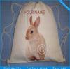 high quality professional customized drawstring cotton bag