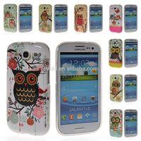Owl Soft Gel Tpu Silicone Slim Back Case Cover For Samsung Galaxy S3 I9300